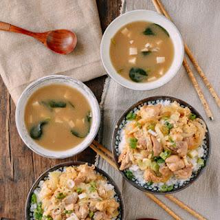 Okakodon (Japanese Chicken & Egg Rice Bowls).