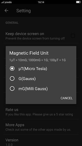 Metal Detector - EMF, Body scanner App Report on Mobile