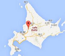 地図:ドーナツ cafe 豆豆・ZUZU