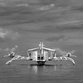 by Noel Salisid - Black & White Objects & Still Life