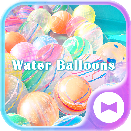 Summer Wallpaper Water Balloons Theme Icon