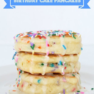 Birthday Cake Pancakes.