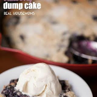 Blueberry Dump Cake.