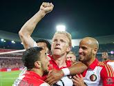 Dirk Kuyt beslist het opnieuw voor Feyenoord