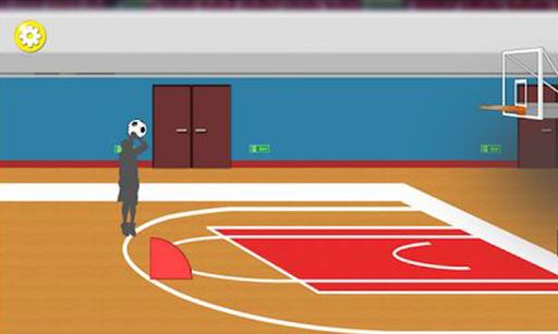 バスケットボール - フリースロー 3点シュート