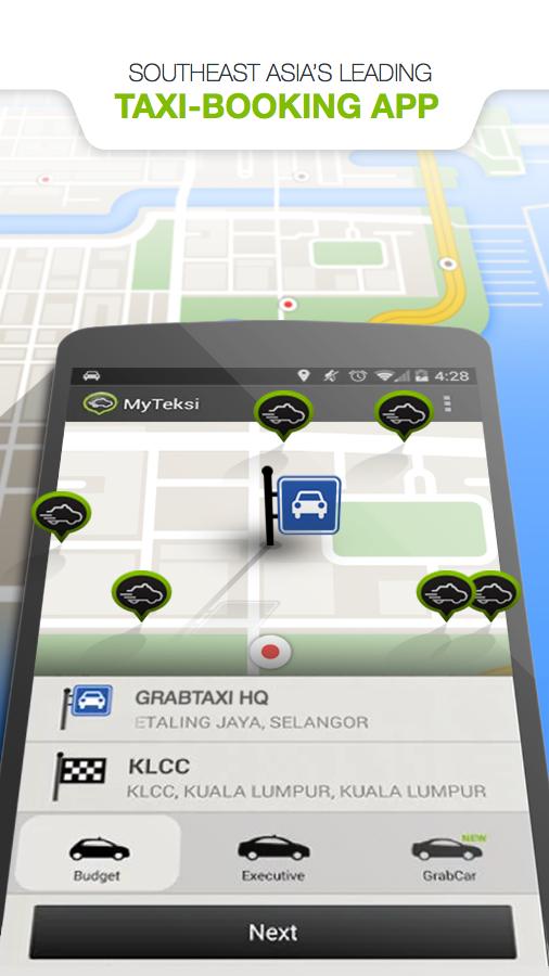 MyTeksi: Book a ride - screenshot