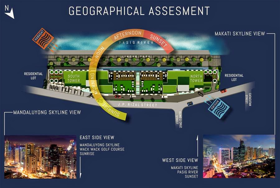 Harbour Park Residences, Mandaluyong site development plan