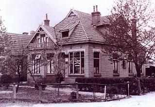 Photo: Bakkerij H.de Boer aan de kerkstraat