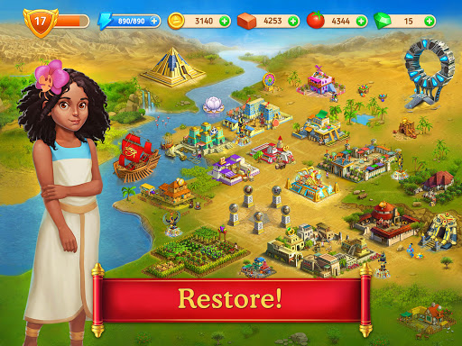 Cradle of Empires Match-3 Game  screenshots 12