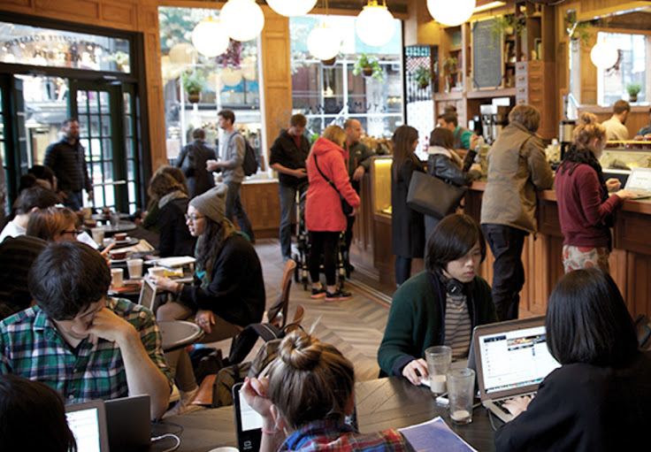 Stumptown Coffee at 8th St. Photo: JD DiGiovanni.