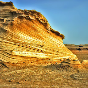 Sculpted Sand by Time by Jerry Fer Damian - Landscapes Deserts ( desert )