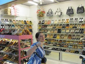 Photo: April found shoes.