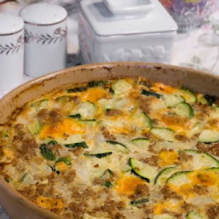 Easy Cheesy Zucchini Casserole.