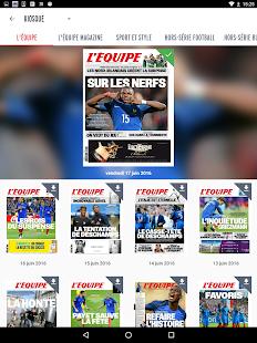 L'Equipe.fr : foot, rugby Screenshot 12