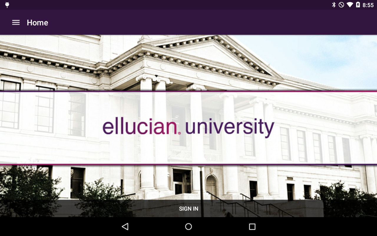 Ellucian GO- screenshot