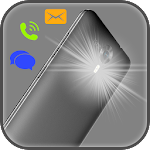 Flash Alerts On Call & Sms Icon