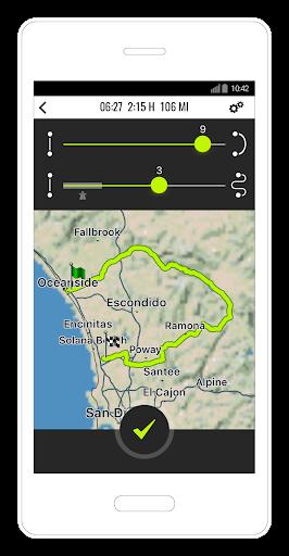 NAVIGON Cruiser - Motorcycle Navigation  screenshots 2