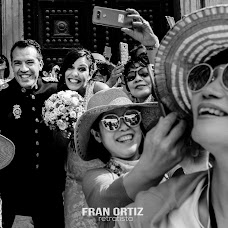 Wedding photographer Fran Ortiz (franortiz). Photo of 25.07.2018