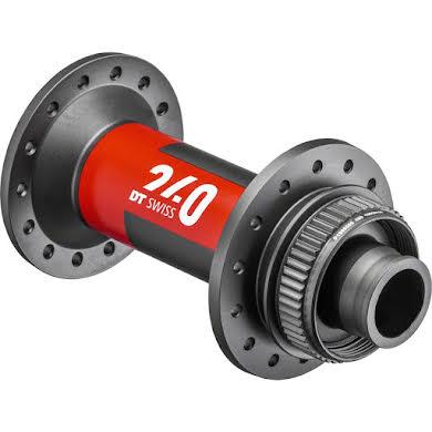 DT Swiss 240 Front Hub - 15 x 110mm - Center Lock - Black/Red