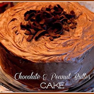 Mama's Chocolate & Peanut Butter Cake!