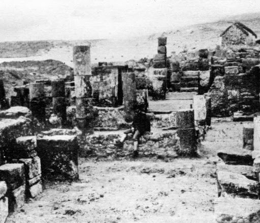 Domus of the southern area in the early 20th Century.