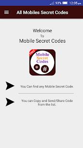 All Mobile Secret Codes 2020 2