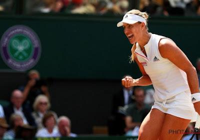 Angelique Kerber plaatste zich zonder al te veel moeite voor de tweede ronde op Wimbledon
