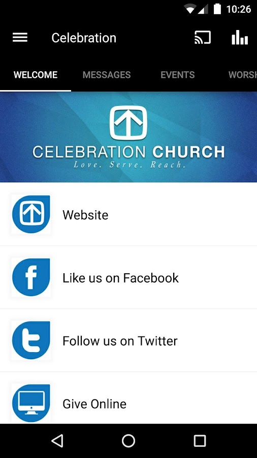 CelebrationChurch Fairhope- screenshot