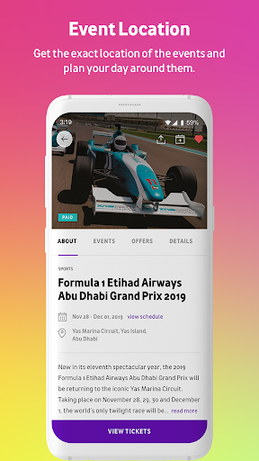 Abu Dhabi Calendar - screenshot