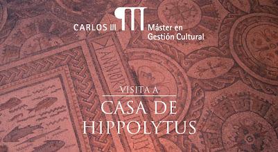 Photo: http://www.mastergestioncultural.eu Visita técnica al conjunto arqueológico Casa de Hippolytus, encuadrada en el Módulo de Patrimonio