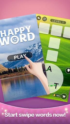 Happy Word - A crossword puzzle screenshot 1