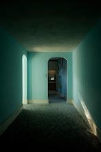 Photo: Carpeted hallway, Waldo Hotel.