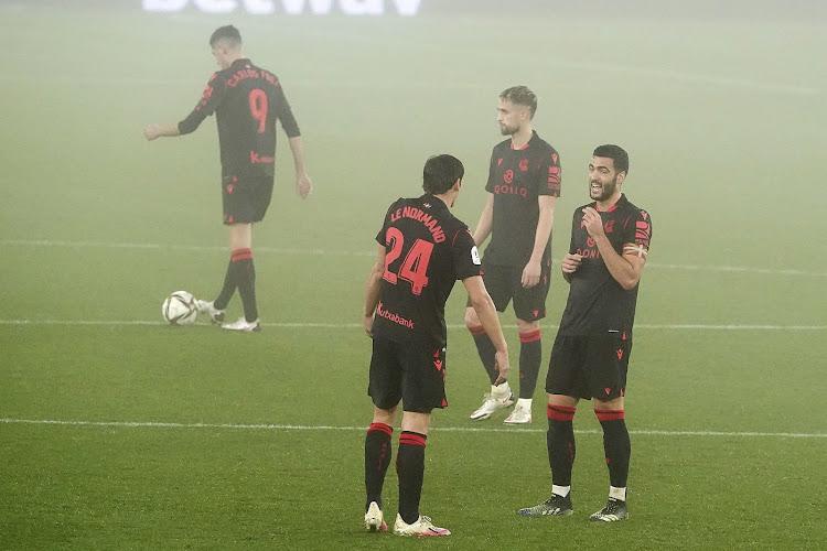 La Sociedad s'impose et monte provisoirement sur le podium