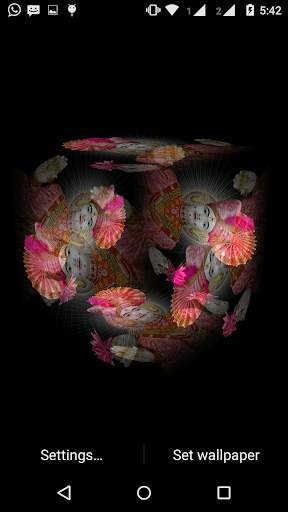Swaminarayan 3D cube Live WP