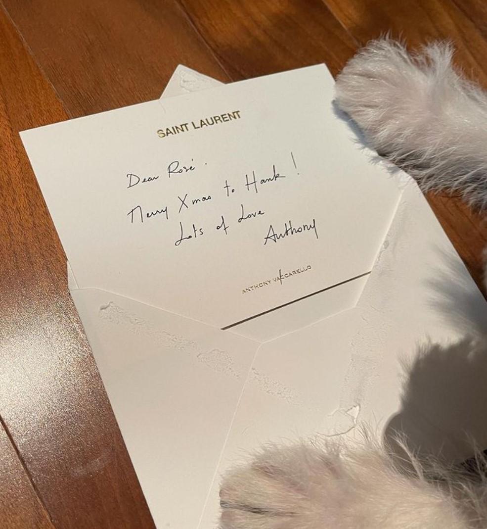 hank letter