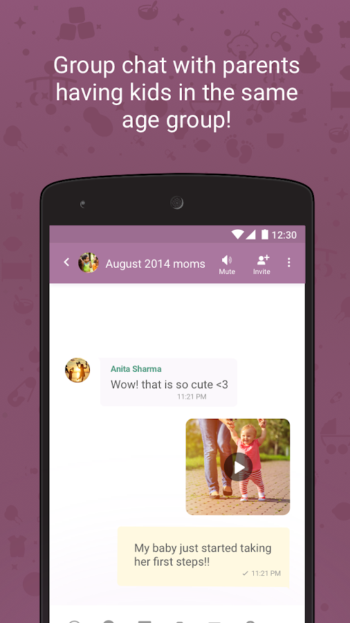 Pregnancy & Parenting Tinystep- screenshot