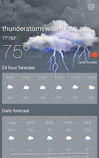 App Weather Radar & Forecast APK for Windows Phone