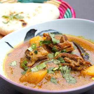 Mutton and Potato Curry (Aloo Gosht).