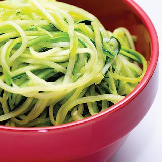 Basic Zucchini Noodles.