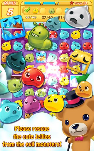Jelly Jelly Crush - In the sky screenshots 15
