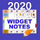 Malaysia Calendar 2020 Widget Notes Download on Windows