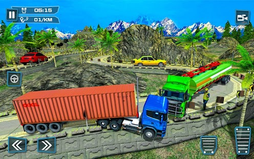 Offroad Oil Tanker – Cargo Transport Truck Driver - náhled