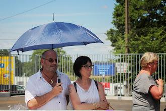 Photo: Eh non, il pleut pas, c'est la canicule