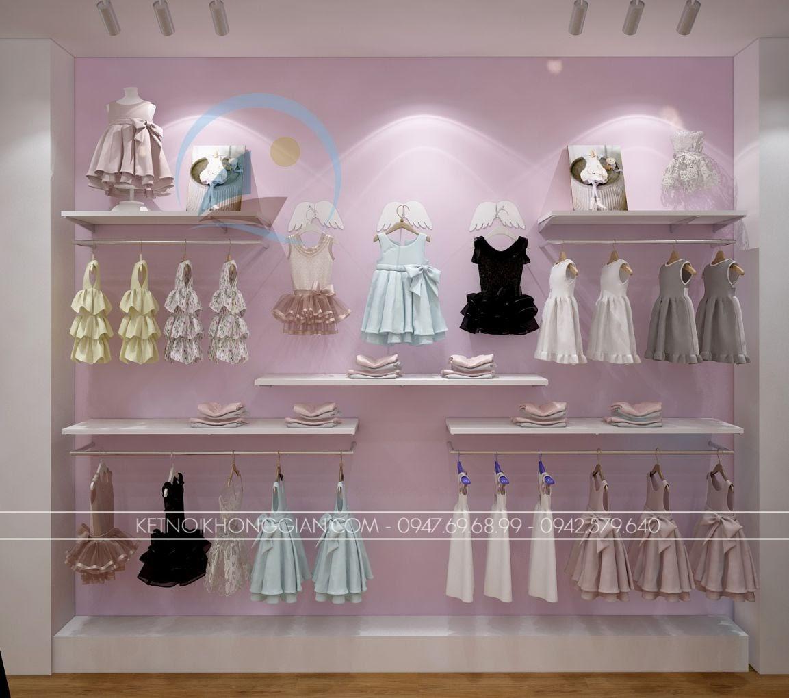 thiết kế shop thời trang trẻ em giá rẻ 16