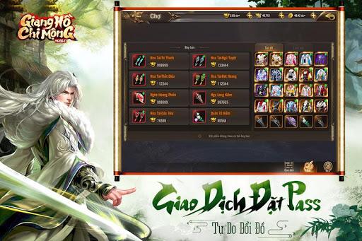 Giang Hu1ed3 Chi Mu1ed9ng - Tuyet The Vo Lam apkpoly screenshots 2