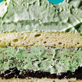 Mint Chip Ice Cream Cake