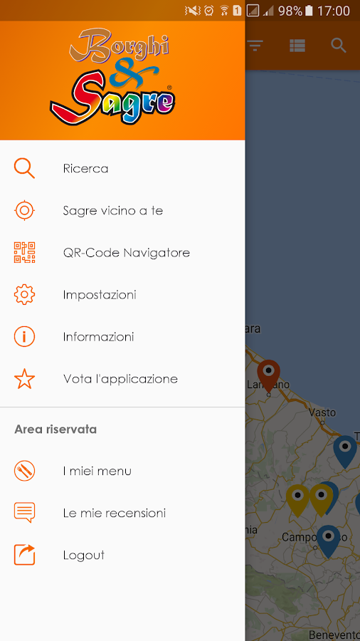 Borghi&Sagre- screenshot