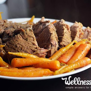 Garlic Herb Pot Roast Recipe (Instant Pot/Pressure Cooker)