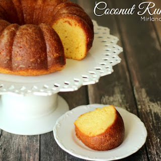 Coconut Rum Cake.
