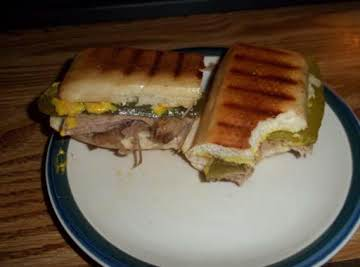 Shirley's version of a Cuban Sammie